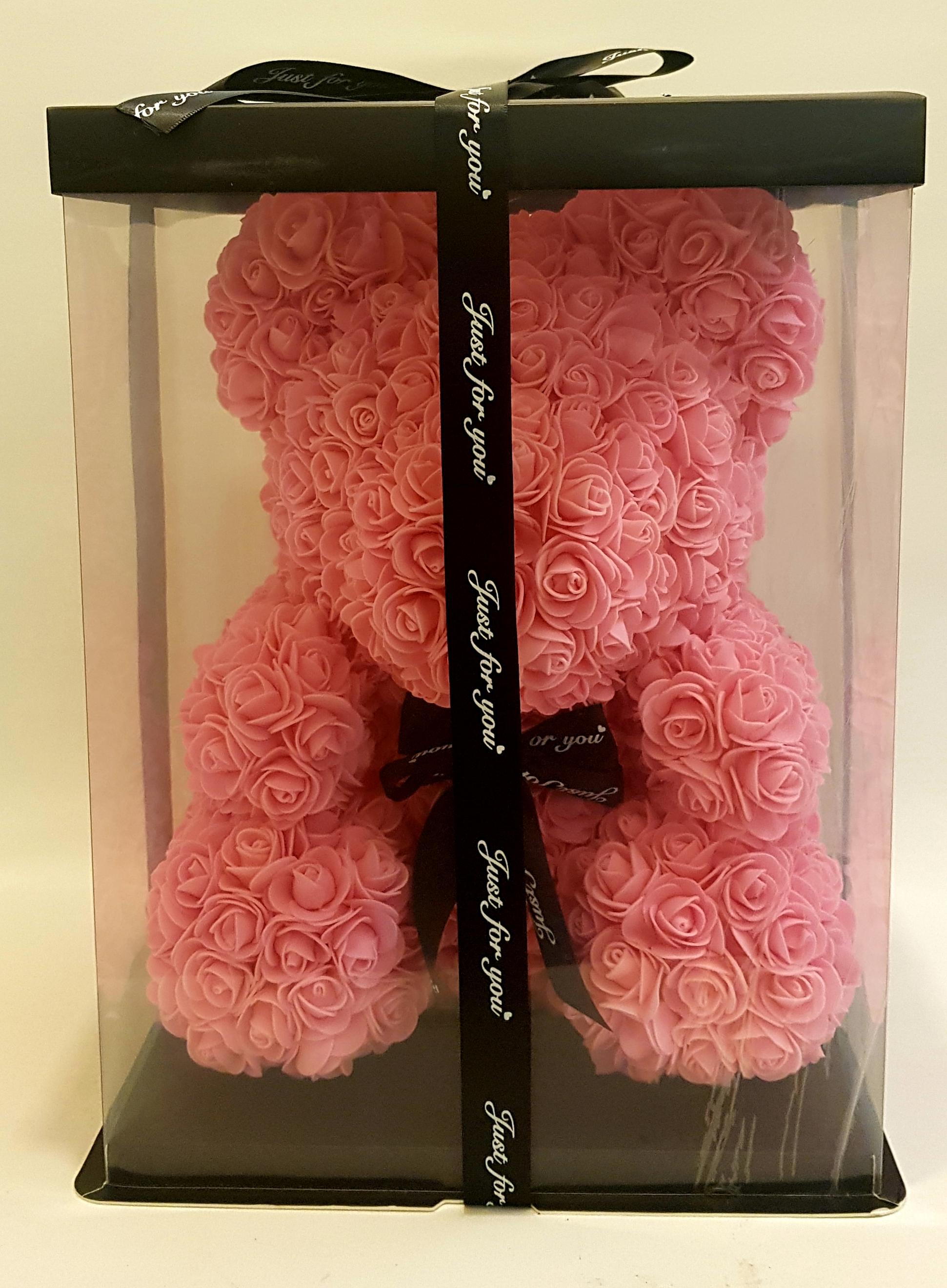 Everlasting Rose Teddy Bear