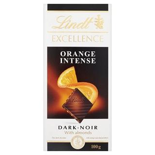 Lindt Excellence Orange Intense Best Before: 31/8/21