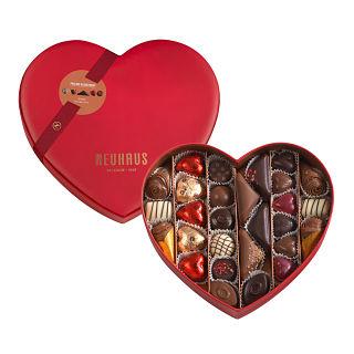 Belgian Neuhaus Chocolates Heart Box Medium