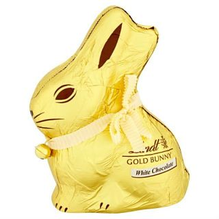 Lindt Gold White Chocolate Bunny