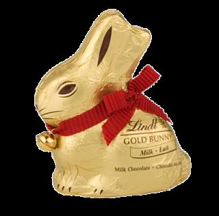 Lindt 50g Gold Milk Chocolate Bunny