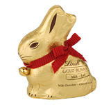 Lindt 50g Gold Milk Chocolate Bunny