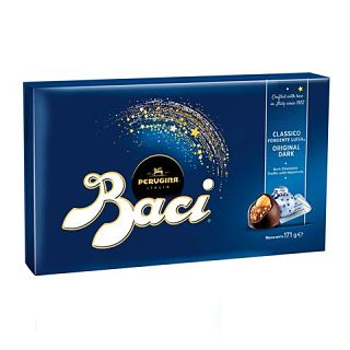 Perugina Baci Dark Chocolate Gift Box (12 pieces)