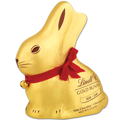 Lindt 500g Gold Milk Chocolate Bunny