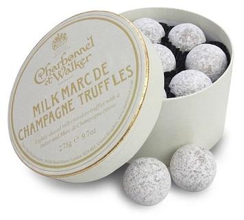 Charbonnel et Walker Milk Marc de Champagne Truffles