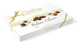 Guylian Belgian Classics Chocolate Assortment Box 610g