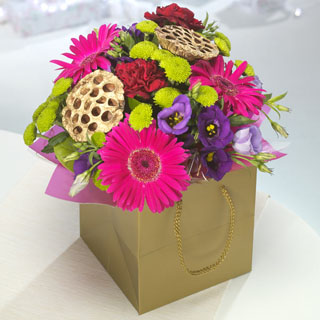 Party Punch Bouquet In Gift Bag