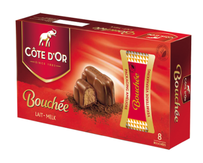 Cote d'Or Bouchee Chocolates (8 chocolates)