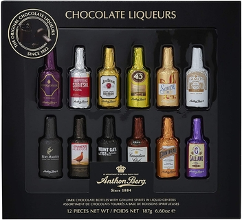 Anthon Berg 12 Chocolate Liqueur Bottles