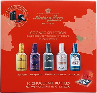 Anthon Berg Cognac Selection (10 chocolate bottles)