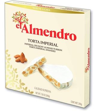 El Almendro Torta Imperial Almond Turron