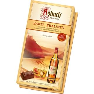 Asbach Dark Chocolate Liqueur Pralines 125g