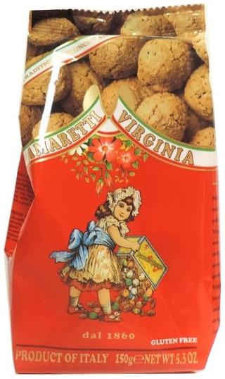 Amaretti Virginia - Crunchy Amaretti (Gluten Free)