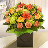 Amber Flower Arrangement