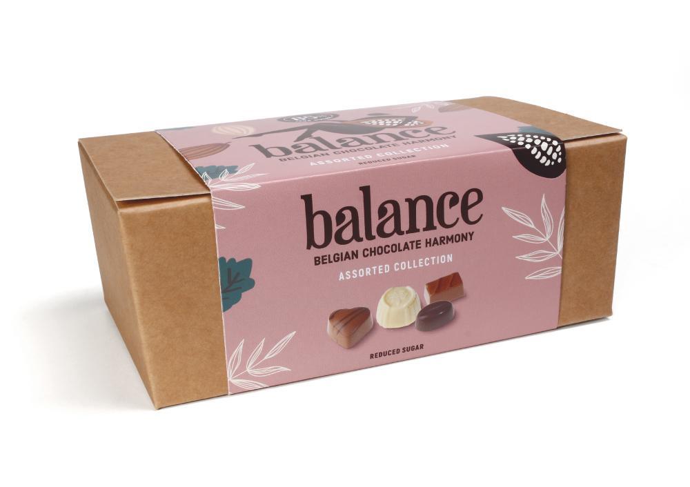 Balance Sugar Free Belgian Chocolates Ballotin