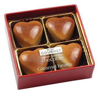 Bon Bon's White Chocolate Caramel Hearts