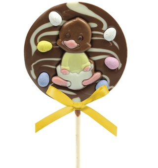 Bon Bon's Cheeky Chick Chocolate Lolly