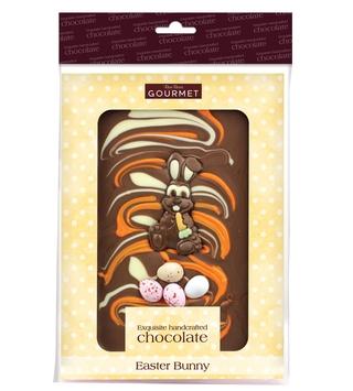 Bon Bon's Gourmet Easter Bunny Chocolate Slab