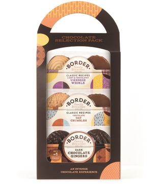 Border Classic Chocolate Biscuits Carry Pack