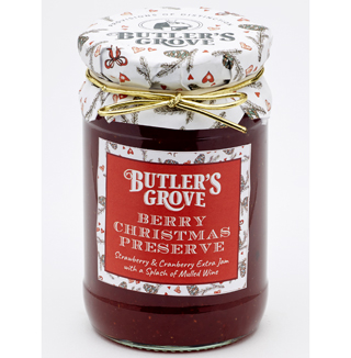 Butler's Grove Berry Christmas Preserve