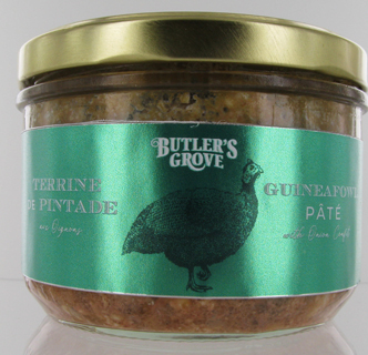 Butler's Grove Guineafowl Pate With Onion Confit