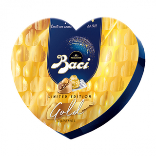 Perugina Baci Gold Caramel Heart Box