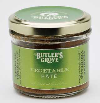 Butler's Grove Vegetable Pate With Black & Green Olives