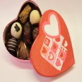 Valentine's Day Heart Box of Belgian Chocolates