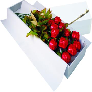Madeline Box Of 12 Chocolate Roses A Great Valentine S Day Gift Idea