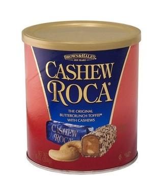 Brown & Haley Cashew Roca Tin
