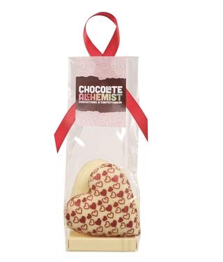 Chocolate Alchemist White Chocolate Love Heart