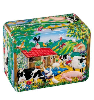 Churchill's Farmyard Jelly Beans Tin