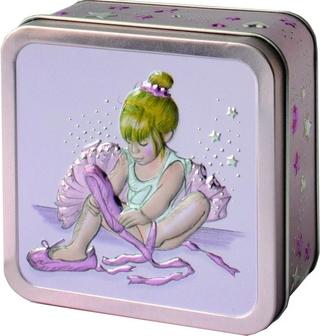 Churchill's Little Ballerina Jelly Beans Tin