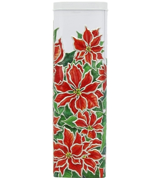Churchill's Poinsettia Shortbread Tin
