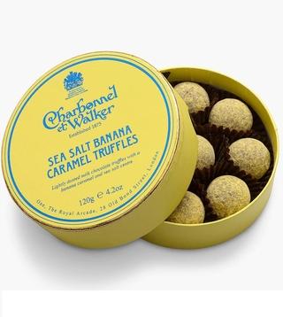 Charbonnel et Walker Sea Salt Banana Caramel Truffles
