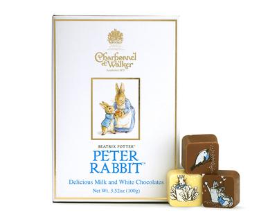 Charbonnel et Walker Peter Rabbit Milk & White Chocolates Book Box