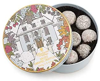 Charbonnel et Walker Winter House Salted Caramel Truffles