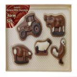 Chocolate Farm Set