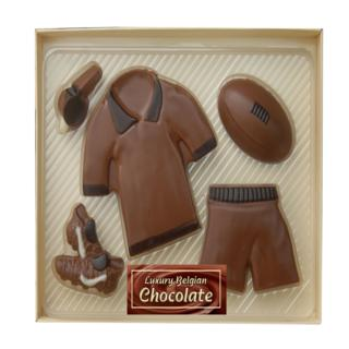 Chocolate Rugby Kit