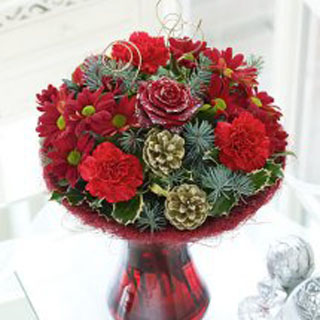 Christmas Perfect Gift Flowers Delivered Edinburgh Flower Shop Flowers Buy Delivery