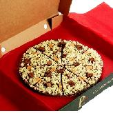 A Crunchy Munchy Chocolate Pizza 5 sizes