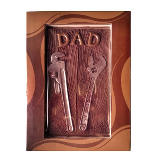 Father's Day Chocolate Tools Plaque