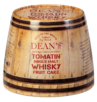 Dean's Single Malt Whisky Fruit Cake Tin