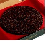Dark and Delicious Chocolate Pizza