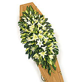 Double Ended Lily Funeral Spray