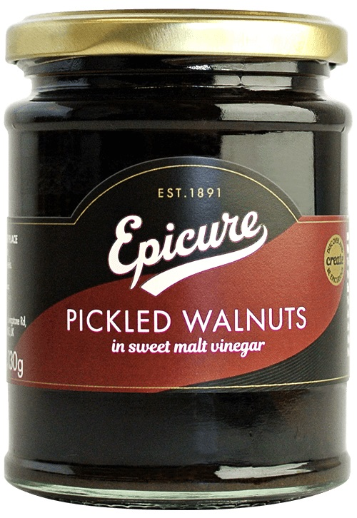 Epicure Pickled Walnuts In Malt Vinegar