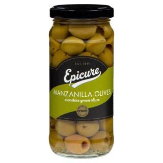 Epicure Stoneless Green Manzanilla Olives