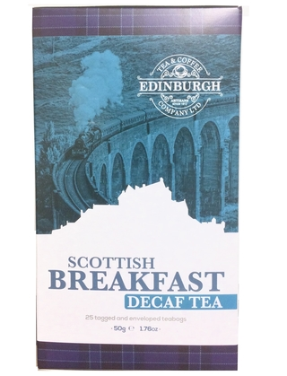 Edinburgh Tea & Coffee Company Scottish Breakfast Decaf Tea