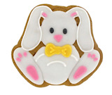 Deluxe Iced Gingerbread Bunny