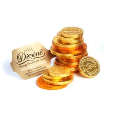Divine Milk Chocolate Gold Coins